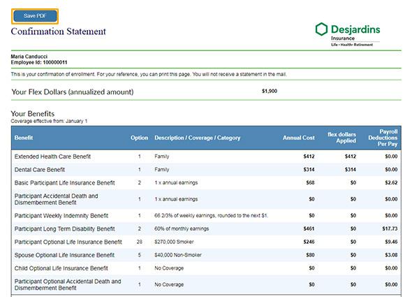 Get your insurance certificate - DFS - Desjardins Life ...